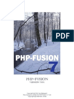 UK Manual PHP-Fusion v7