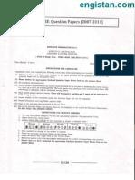 JNU MTech CSE Question Paper 2011