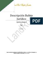 Descripción Bufete Jurídico-02