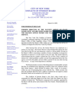 Press Release & Disposition (Mayor's Office)