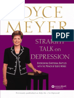 SAMPLE Joyce Meyer Straight Talk on Depression