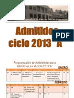 Cucei Actividades Para Admitidos 2013A