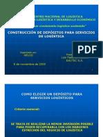 CONSTRUCCIÓN DE DEPÓSITOS PARA SERVICIOS