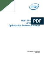 Architectures Optimization Manual