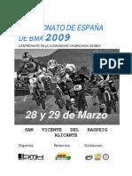 Dossier 2009 Alicante