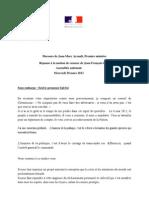 03.20 Discours de Jean-Marc Ayrault, Premier ministre - Réponse à la motion de censure de Jean-François Copé, à l'Assemblée nationale