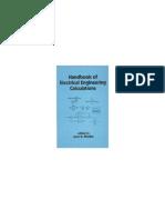Handbook of Electrical Engineering Calculations