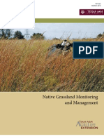Native Grassland Monitoring and Management