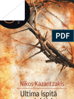 DEMO Kazantzakis Nikos Ultima Ispita a Lui Hristos