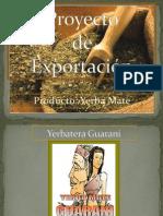 Exportación de Yerba mate