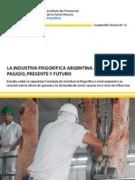 IPCVA CT13 Ind Frigorifica Pasado Presente Futuro
