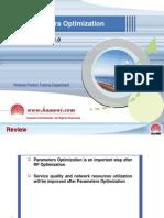 10 Parameter Optimisation