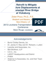 S67_Truss Retrofit to Mitigate Substructure Displacement at I-20 Mississippi Bridge at Vicksburg_LTC2013