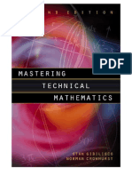 Mastering Technical Mathematics -2nd Edition- Stan Gibilisco