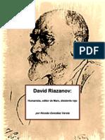 """""""David Riazanov"""