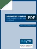 SECA 2011 Indicadores Calidad Hospitales Med25