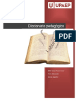 Diccionario Pedagogico
