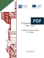 Brochure CCP Italy Settembre 2010