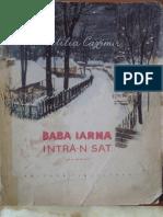 106630973 Baba Iarna Intra n Sat de Otilia Cazimir Ilustratii Ana Bitan