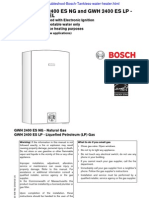 Bosch GWH 2400ES NG LP Indoor