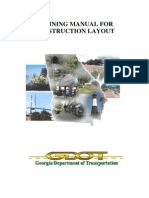 Training Manual for Construction Layout