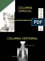 Clase 3 Columna Cervical