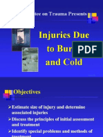 Chapter 9, Injuries Due to Burns and Cold