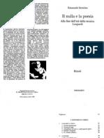 Severino - Il Nulla e La Poesia