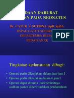 Keadaan Darurat Abdomen Pada Neonatus