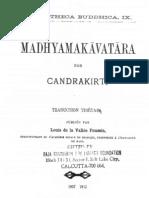 Madhyamaka-avatara of Candrakirti in Tibetan