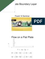 Fluent 14 Flat Plate