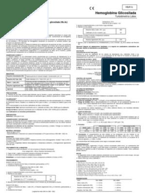 valores de referencia de hemoglobina glicosilada pdf
