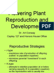 Flowering Plant Reproduction and Development Lecture Slides