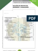 Portada y Página 2 NTJ 01J Redacción de Proyectos de Jardinería y Paisajismo