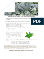 Greens Shares Flyer
