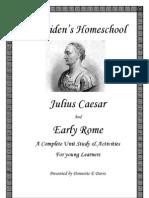 Julius Caesar & Rome Unit Study by Donnette E Davis Early Learners