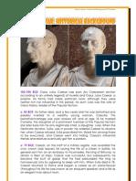 Julius Caesar Timeline by Donnette Davis, St Aiden's Homeschool