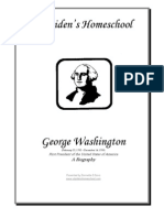 George Washington Bio by Donnette Davis, St Aiden's Homeschool