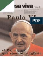 Chiesa Viva Paulo Vi El Papa Que Cambio La Iglesia Pbro Luigi Villa Copia