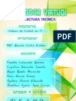 Lectura técnica probador virtual ITI8(v S)