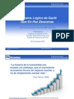 Logic Gantt Chart RIP 19 Oct 12 SPANISH