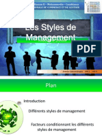 Styles Management (RedOne)