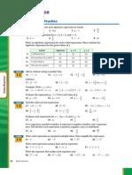 Algebra 1 Ch. 1 Extra Practice