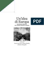 Un'idea di Europa Riflessioni e proposte per l'Unione Europea di domani