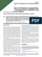 Facile Preparation of Ruthenium Nanoparticles