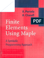 Finite Elements Using Maple-A Symbolic Programming Approach-portela Charafispringer 2003