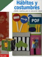Habitos y Costumbres - Actividades Creativas Para La Educacion Infanti (Parramon)l