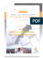 Actes Du Colloque Mp