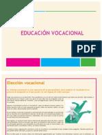 educacion vocacional