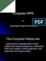 Computer RPG